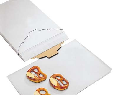 World Cuisine 47682-60 Parchment Paper, 15.75 x 23.5-in, Silicone Coated