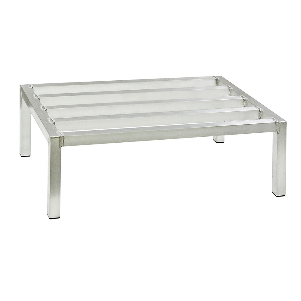 New Age 6016 Dunnage Rack w/ 1500-lb Weight Capacity & 8x24x60-in, Fully Welded Construction