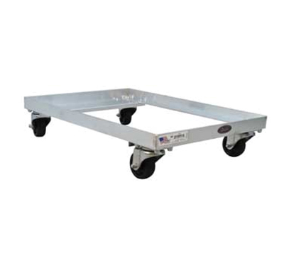 New Age 1195 Dough Dolly, 5.5x25.5x18, Accepts Toteline Trays 870008-Model
