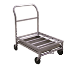 New Age 1631 Food Box Dolly w/ 500-lb Capacity & 16-in Height Deck, 24x36x33-in, Aluminum