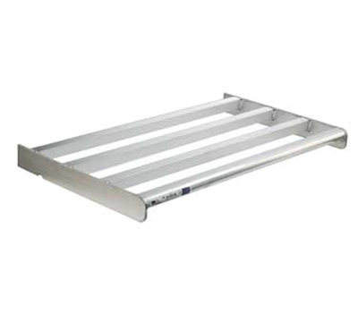 New Age 2502 Heavy Duty Bar Style Cantilevered Shelf w/ 900-lb Capacity, 18x42-in, Aluminum