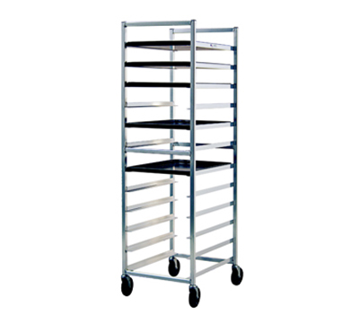 New Age 6333 Open Full Height Pan Rack (12)18x26-in Pan Capacity Knock Down Style End Loading