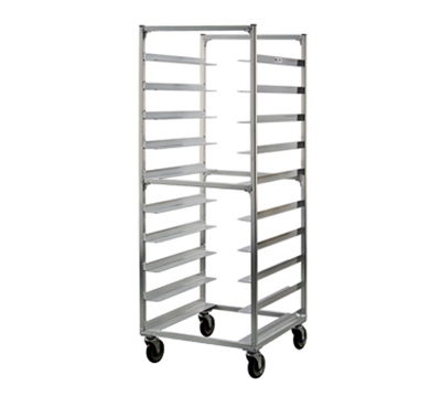 New Age 95048 69-in Mobile Tray Rack w/ (10)23.5x29