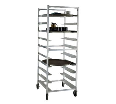 New Age 95681 63-in Mobile Tray Rack, Open Sides & (9)22x2