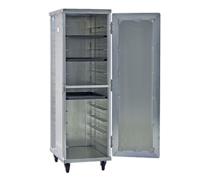 New Age 97243 Mobile Full Height Transport Cabinet w/ (12)18x
