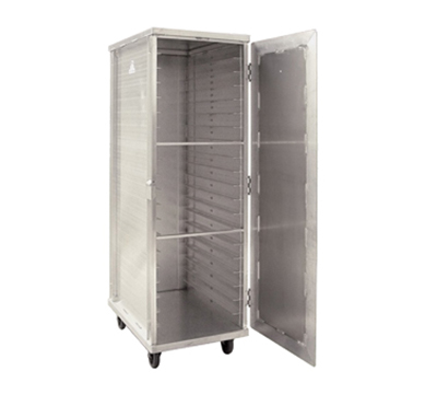New Age 97718 Mobile Full Height Transport Cabinet w/ (20)18x2