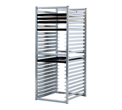 New Age 97729 51-in Insert Rack w/ Open Sides, (24)18x26-in Pan Capacity, End L