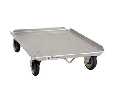 New Age 98040 Pizza Dough Box Dolly w/ 300-lb Capacity & Holds 18x26-in Boxes, Aluminum