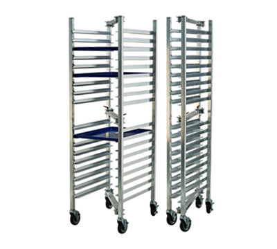 New Age 98678 Caterers Bun Pan Rack w/ (18)18x26-in Pan Capacity & 5-in Casters, 21.5x72x26-in