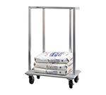 New Age 98718 Flour Sack Dolly w/ 1000-lb Capacity & Full Perimeter Bumper, 38x57.38x22-in