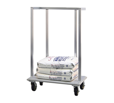 New Age 98718 Flour Sack Dolly w/ 1000-lb Capacity & Full Perimeter Bumper, 38x57.38x22-in