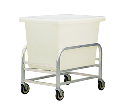 New Age 99273 Bulk Cart w/ 8-Bushel Capacity & All Welded Construction. 23.25x24x34.5-in