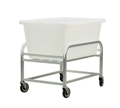 New Age 99274 Bulk Cart w/ 9-Bushel Capacity & All Welded Construction. 27.5x25x38.25-in