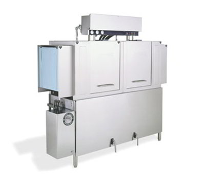 Jackson AJ64CS 2303 Conveyor Type Dishwasher w/ Power Rinse & Wash, 287-Racks Per Hour, 230/3 V