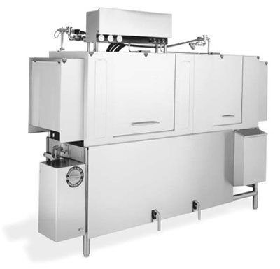 Jackson AJ80CGP 2303 High Temperature Conveyor Type Dishwasher w/ 248-Racks Per Hour, 230/3 V