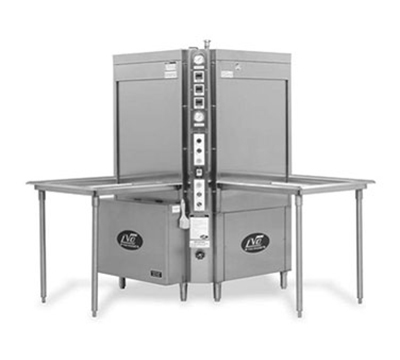 Jackson CL10S 2303 Rack Type Corner Load Pot Pan Washer w/ Steam Injected Tank Heat, 230/3 V