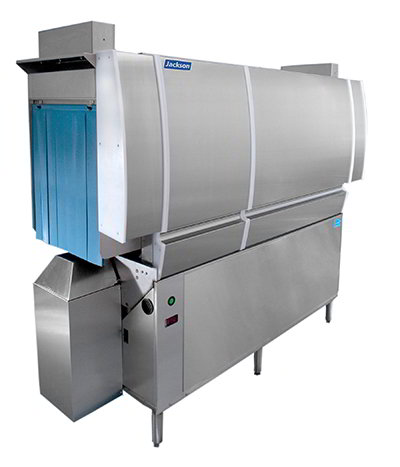 Jackson CREW-66CE High Temp Conveyor Dishwasher, Single Tank, 218-Racks/Hr