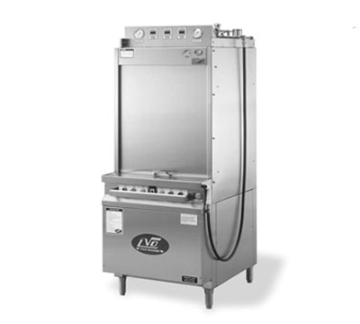 Jackson FL10G2301 Rack Type Front Load Pot Pan Washer w/ Gas Tank Heat, 10-Pan Capacity, 230/1 V