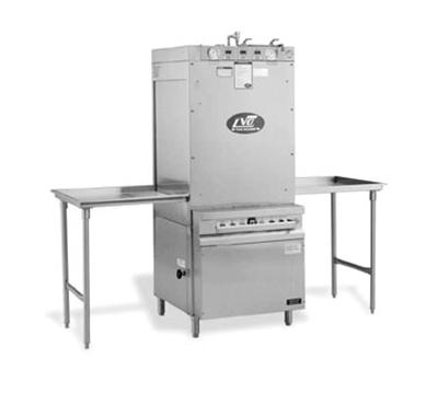 Jackson PT14S 4603 Rack Type Pass Thru Pan Washer Steam Injected Tank Heat, 14-Pan Capacity, 460/3V