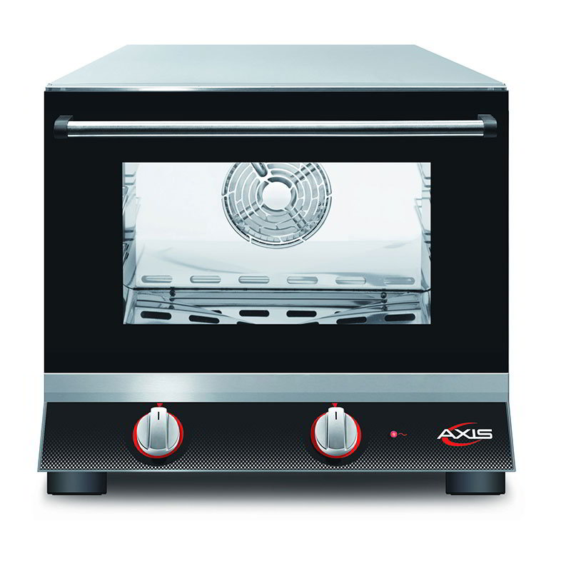 Axis AX-413 Countertop Convection Oven - Holds (3) 1/4-Size Pans, 110v
