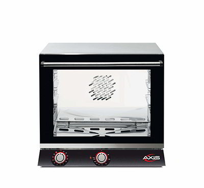 Axis AX-513HR Countertop Convection Oven - Holds (3) 1/2-Size Pans, Humidity, 110v
