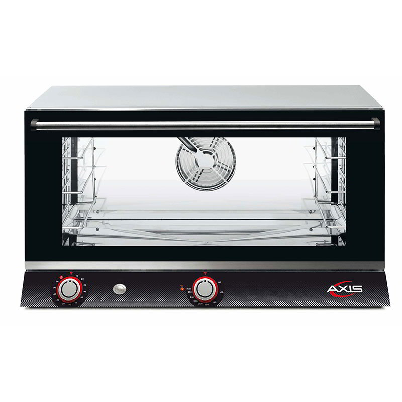 Axis AX-813RH Convection Oven - Full Size, 3 Shelf, Humidity Inverter System, Stainless