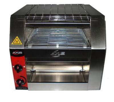 Axis AXCT1 Conveyor Toaster, 420 Slices Per Hour, Rear & Front Exit
