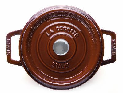 Staub 1103087 Round La Cocotte w/ 9-qt Capacit