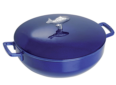 Staub 1112991 Limited Edition Bouillabaisse Pot w/ 5.75-qt, Fish Knob &