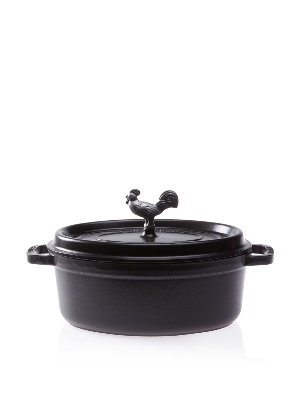 Staub 1122925 Coq Au Vin Cocotte w/ 4.25-qt Capacit