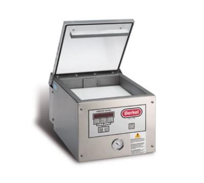 Berkel 250-VAC Vacuum Packaging Machine, Table Model, 12-1/2 in Seal Bar
