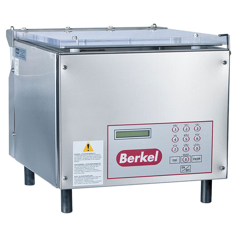 Berkel 350 Vacuum Packaging Machine, Table Model, 17 in Seal bar