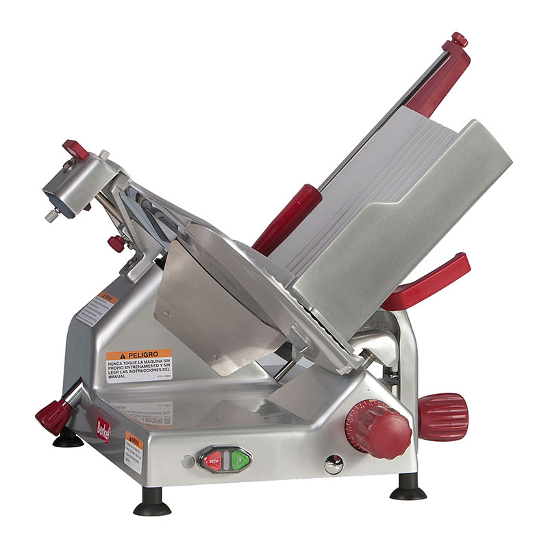 Berkel 829E-PLUS 14-in Round Manual Slicer w/ Angled Gravity Feed & Knife Guard, Sharpener