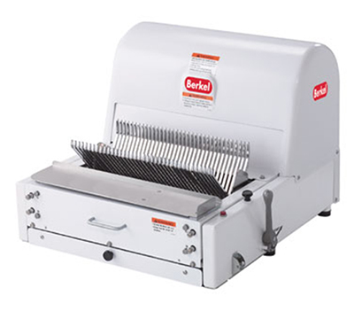 Berkel MB-3/8 Bread Slicer, 3/8-in Slice Thickness, Painted White