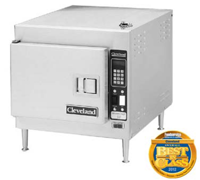Cleveland 21CET8 2403 Countertop Convection Steamer w/ 1-Compartment & 3-Pan Capacity, 8-kW,