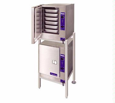 Cleveland (2)22CET6.1 2401 Boiler Free Double Stacked Convection Steamer w/ 6-Pans Per Compartment, 2401