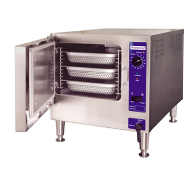 Cleveland 22CET3.1440 Countertop Convection Steamer w/ 1-Compartment & 3-Pan Capacity, 12-kW, 440/3V