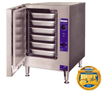 Cleveland 22CET6.1 2401 Countertop Convection Steamer w/ 1-Compartment & 6-Pan Capacity, 12-kW, 240/1 V