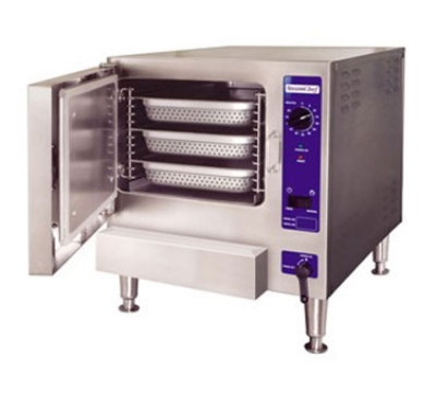 Cleveland 22CGT31 NG Countertop Convection Steamer, (3) Full-Size Pan, Single, NG