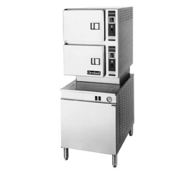 Cleveland 24CEM24 2083 2-Compartment Pressureless Convection Steamer, 208/3 V
