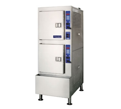 Cleveland 24CGA102 NG 2-Compartment Pressureless Convection Steamer, NG