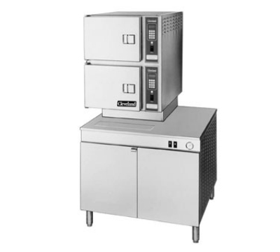 Cleveland 36CDM16 Convection Steamer w/ 8-Pan Capacity, Direct Steam, 120v