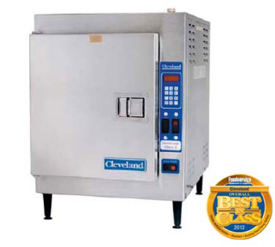 Cleveland 21CET164403 Countertop Convection Steamer w/ 5-Pan Capacity, Mechanical, 440/3 V