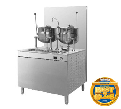 Cleveland 24GMK6200 LP 6-Gallon Kettle Cabinet Assembly w/ 24-in Base, Lift-Off Cover, LP