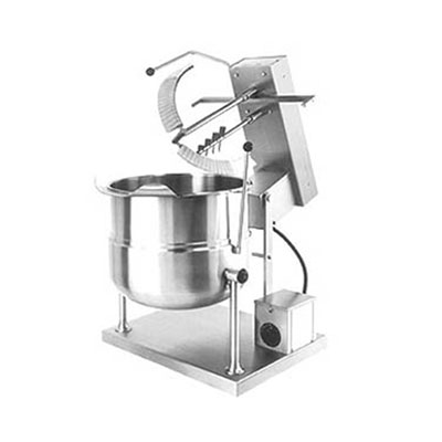 Cleveland MKDT12T1201 Direct Table Top Kettle Mixer w/ 12-gal Capacity, Variable Speed, Stainless