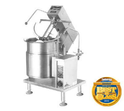 Cleveland MKET20T Tabletop Kettle Mixer w/ 20-gal Capacity, Variable, Tilt, Stainless, 208/3v