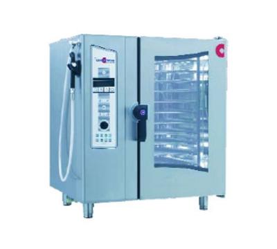 Cleveland OEB 10.10 208 Half-Size Combi Oven Steamer w/ Digital Controls, 10-Pan, 208/3 V