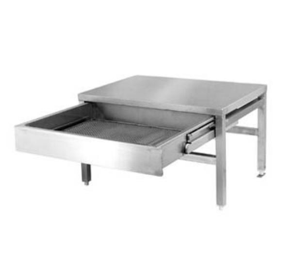 Cleveland ST28 Equipment Stand, For Single Kettles Only, 28 in W x 26 in D x 18 in H