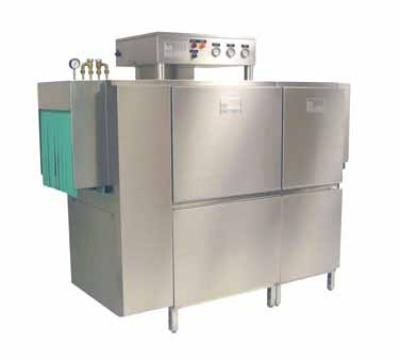 Meiko K66E460 44-in Single Tank Rack Conveyor Dishwasher, 239-Racks/Hr, 18-in Clear, 460/3