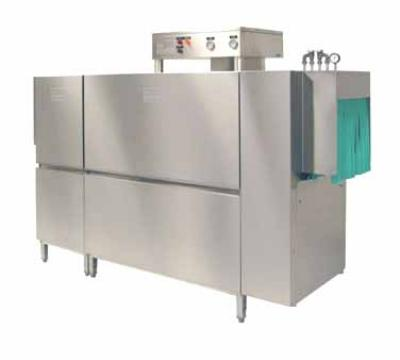 Meiko K86E230 64-in Double Tank Rack Conveyor Dishwasher For 284 Racks, 18-in Clear, 230/3